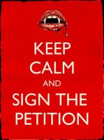True Blood Petition Poster by PowlaM
