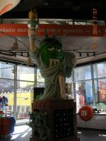 M+M Statue of Liberty by RonixBladewing
