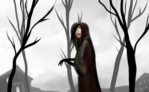 The Cloaked Woman by Skyfoogle