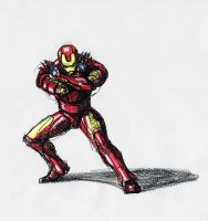 Iron Man by Spookyspoots