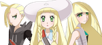 Lillie's family? by FloisonKeya