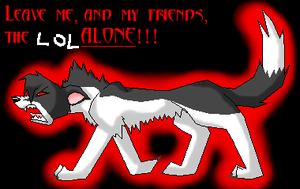 LEAVE. ME. ALONE. by T0pd0g
