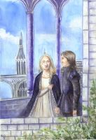 Eowyn and Faramir by Oikeus