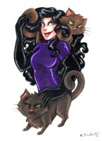 Catwoman 1 by msciuto