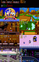 Triple Trouble 16 Bit Mock-Ups by DerZocker