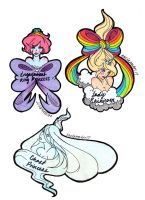 Adventure Time Princess Stickers 3 by Exclamator17