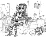 Girls Who Play Guitars by Super-Wooper