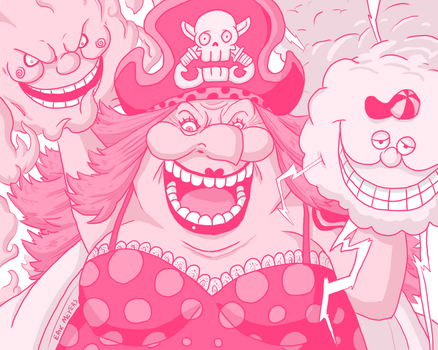 -Big Mom- Charlotte Linlin by Erk-kun