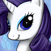 Miss Rarity by Astral-Agonoficus