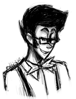 Homestuck Doodle - Young Post-Scratch John by abbic314