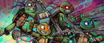 Ninja Turtles by sharkie19