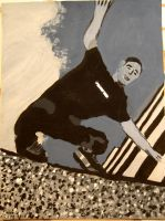 Painted Aggressive Skater by dailybread5