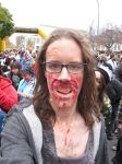 Zombie walk  Montreal 2014 by Zombiefatal