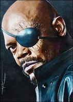 Nick Fury by DavidDeb