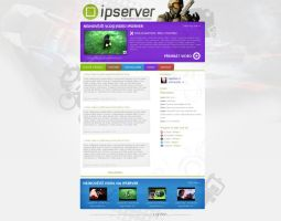 IPServer.cz - youtube video channel page by Ingnition