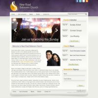 New Road Believer's Church Website by ipholio