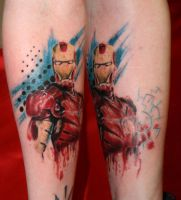 Ironman by SimplyTattoo