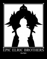 Epic Elric Brothers... by ViviRouce