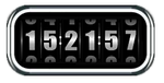 Rolling Clock for Rainmeter by ArcheR-PL