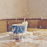 Milky mess by Justysiak