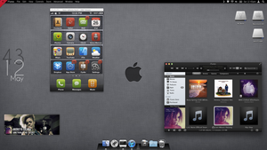 Mac OSX Lion May Desktop/ iPhone set up by lew0808