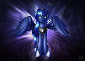 Angel Of The Night Sky Redraw (Updated) by J-Zykov