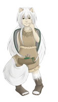 Arctic Fox Character by Idle-Emma