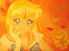 Sailor Venus by SheWolfxAngel