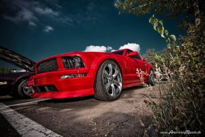 redMustang by AmericanMuscle