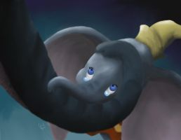 Disney Dumbo: Baby Mine by CellySmiles