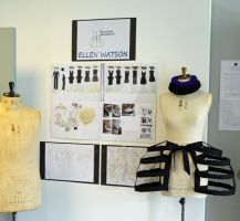 Final collection exhibition by BLUE---WOLF