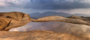 Mt Ampersand Peak Pano by philipbrunner