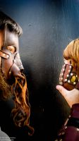 Steampunk Post-Apoc: Face to Tentacle by TormentedArtifacts