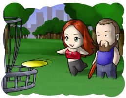 BILY Cards - Disc Golf by CGVickers