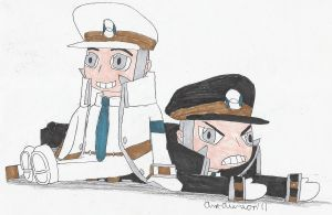 Chibi Subway Masters by Anna-aurion