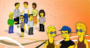 My Simpsons Friends by ariguanas