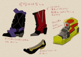 shoes of TRANSFORMERS by piyo119