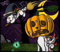 Happy Halloween - Okami Style by sthephanymel