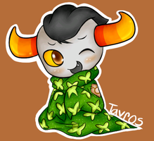 Troll Snuggies- Tavros by PPGxRRB-FAN