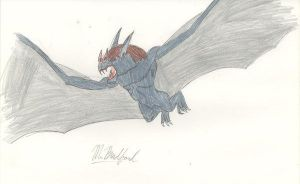 G Reborn GIANT BAT by KingShisa08