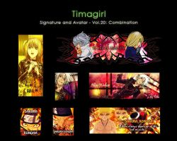 Combination Signature Vol. 20 by Timagirl