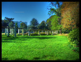 Park in Ghent by BluePalmTree