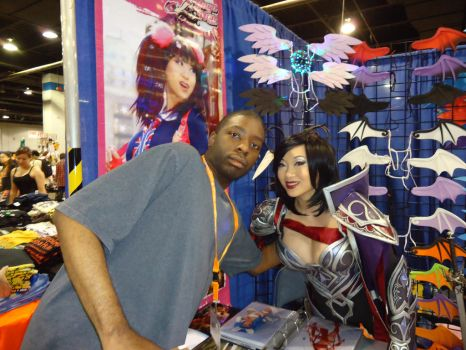 Yaya Han as Fiora and Myself by SheikTheGeek