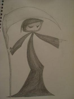 Grim Reaper, Yes i drew bryces by TheJugglingMan