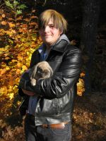 Autumn Fire and Lapin Love by FervidsHand