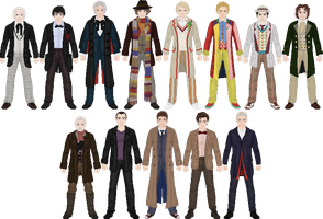 Doctor Who by Taiko554