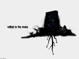 Rooted to the Music wallpaper by R-o0t