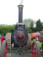steam tractor front by stealth49