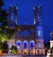 Notre-Dame Basilica by squimberrycupcake