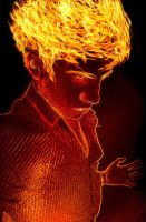 Human torch by gon69